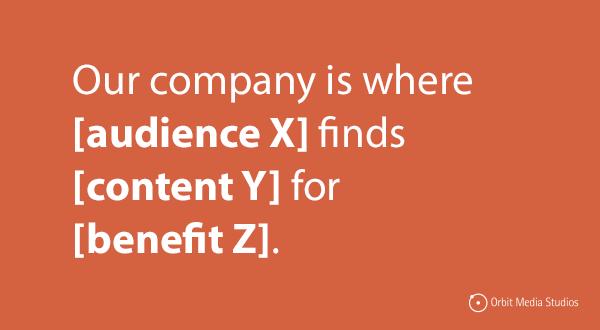 content marketing mission statements generator