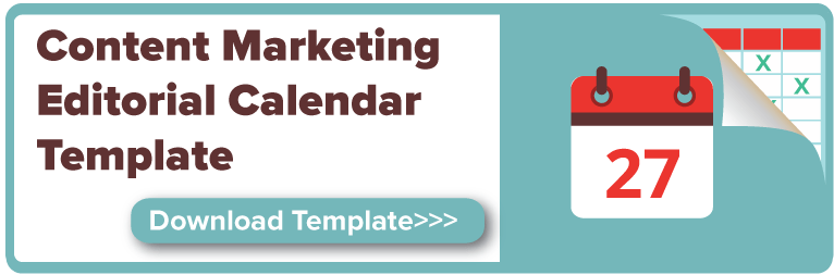 Content Marketing Calendar Template