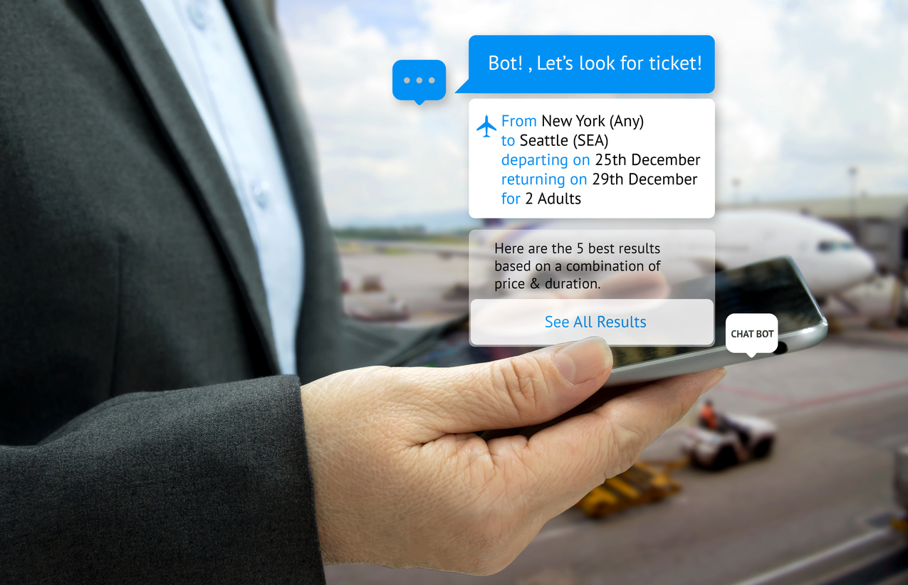 Chatbots are one of 2017's top content marketing trends