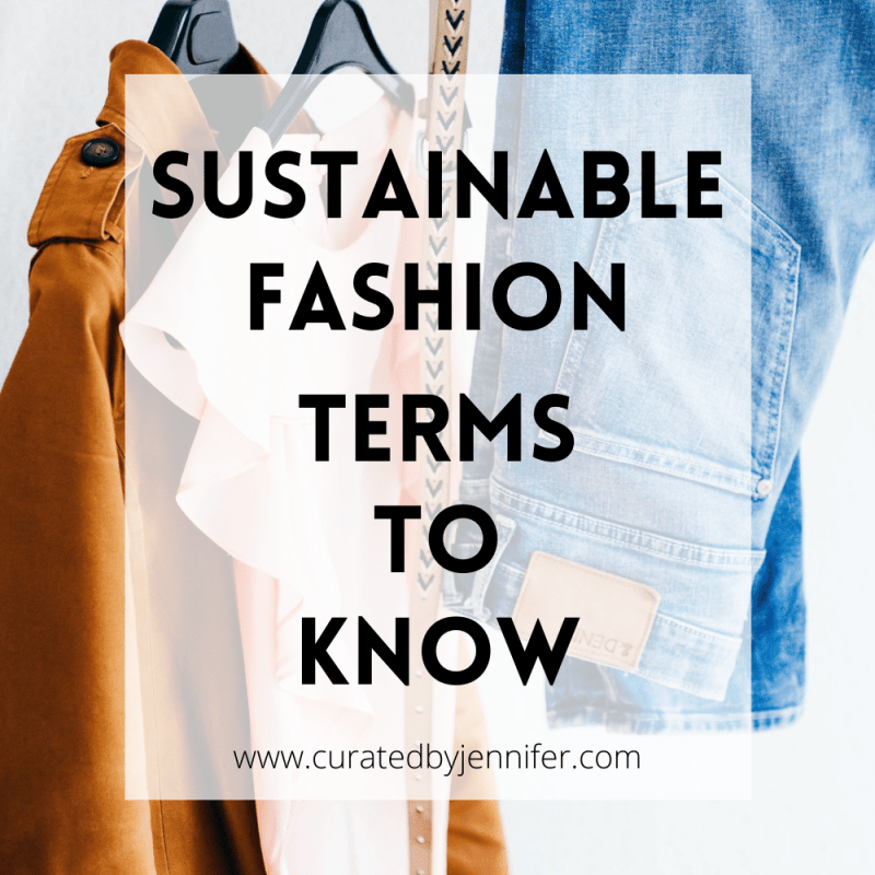 Sustainable Fashion Terms To Know