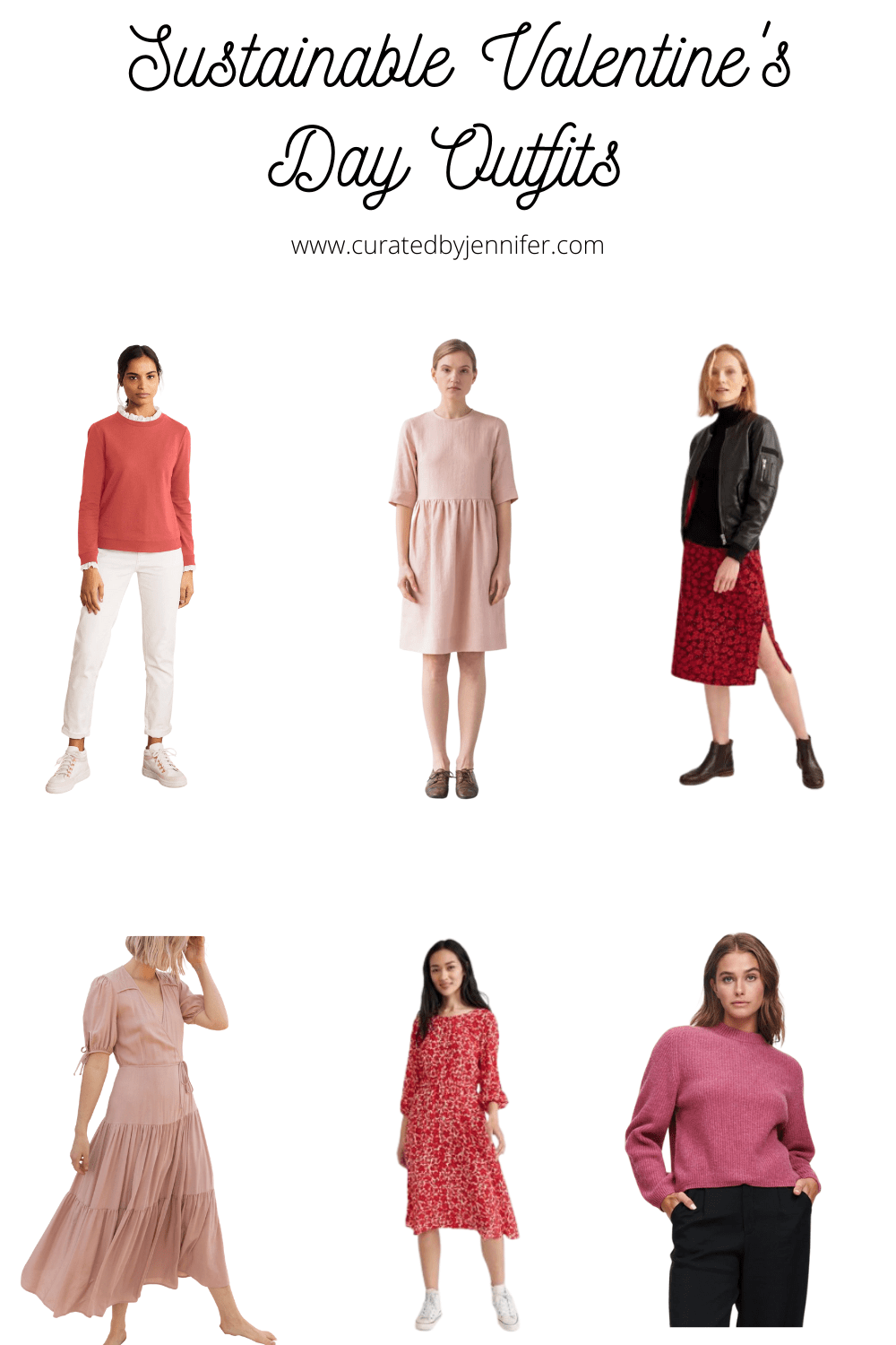 Sustainable Valentine's Day Outfits