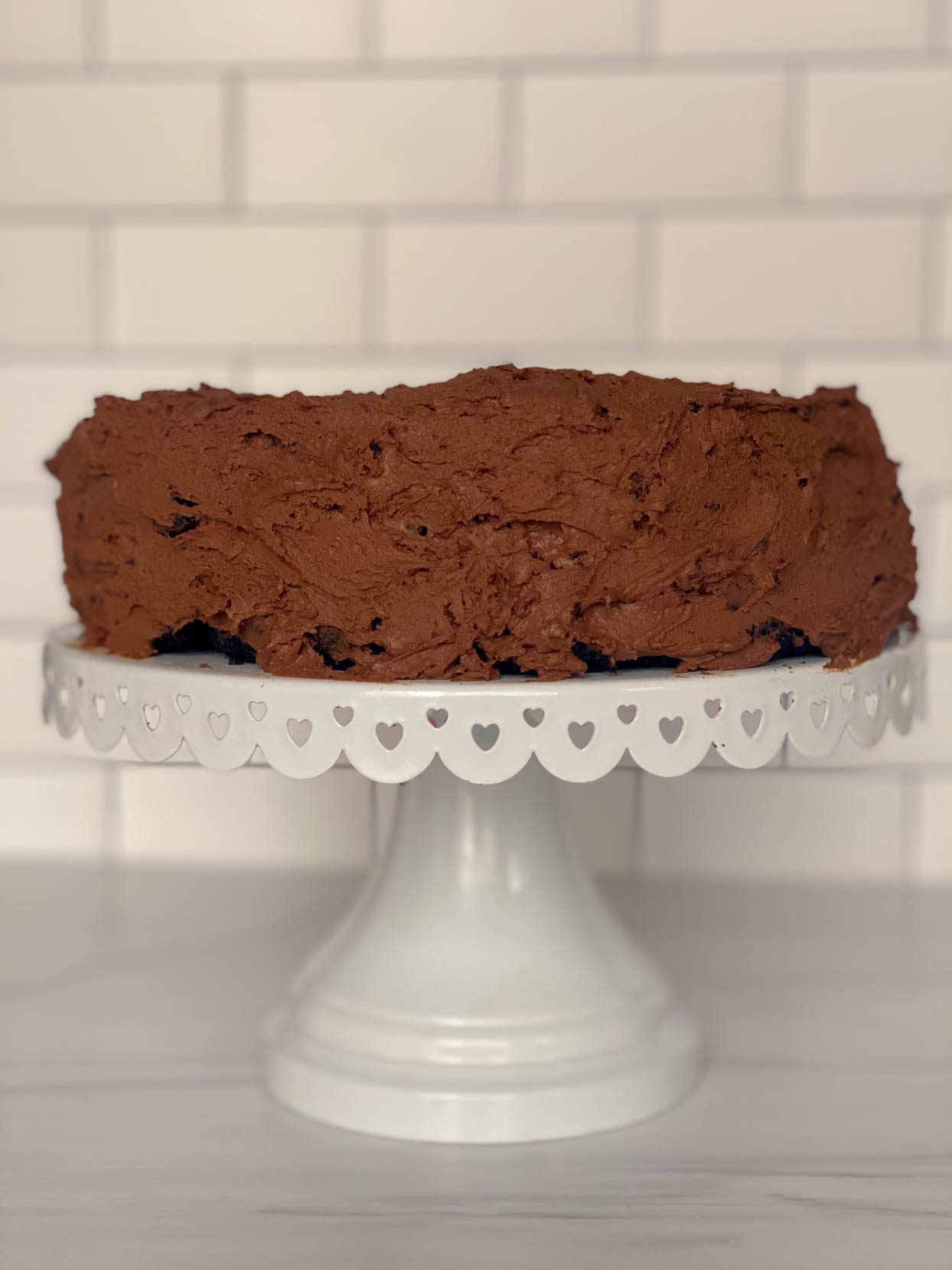 Grain Free Vegan Chocolate Cake