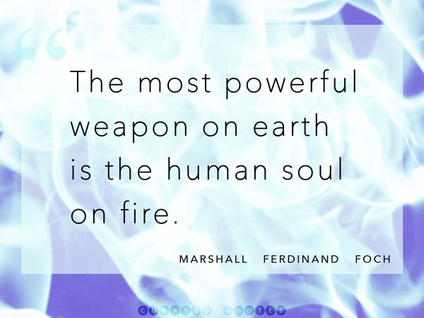The Human Soul On Fire