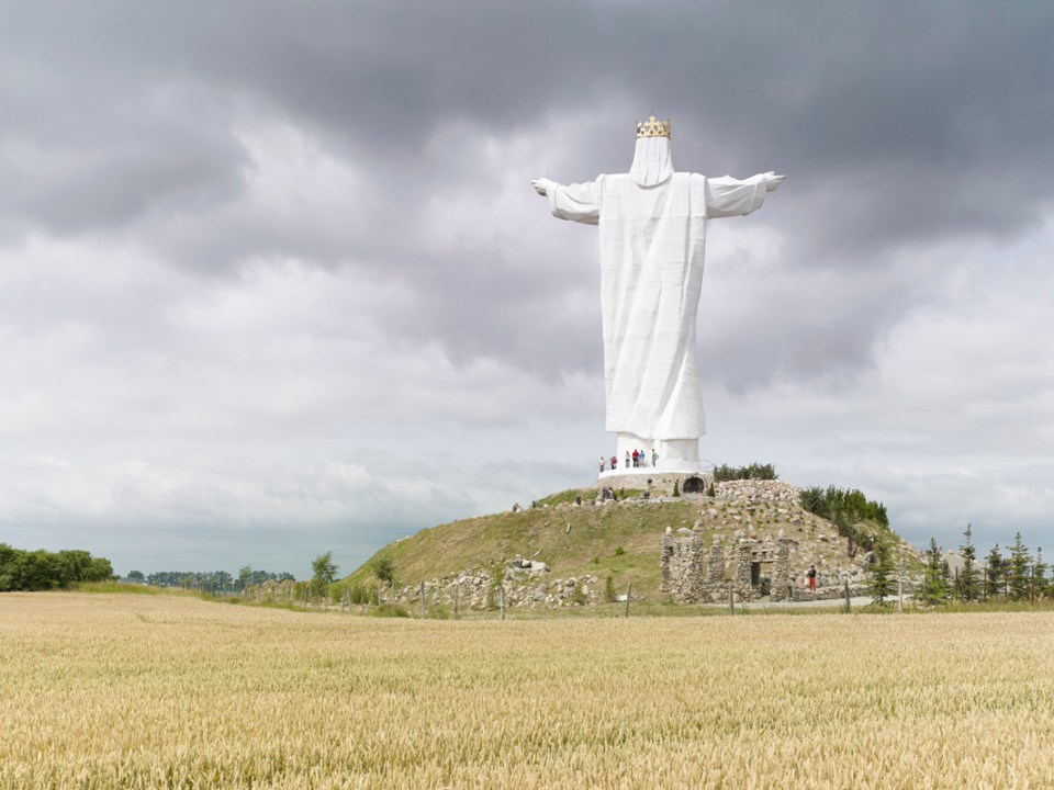 Christ the King, Świebodzin, Poland, 120 ft, built in 2010