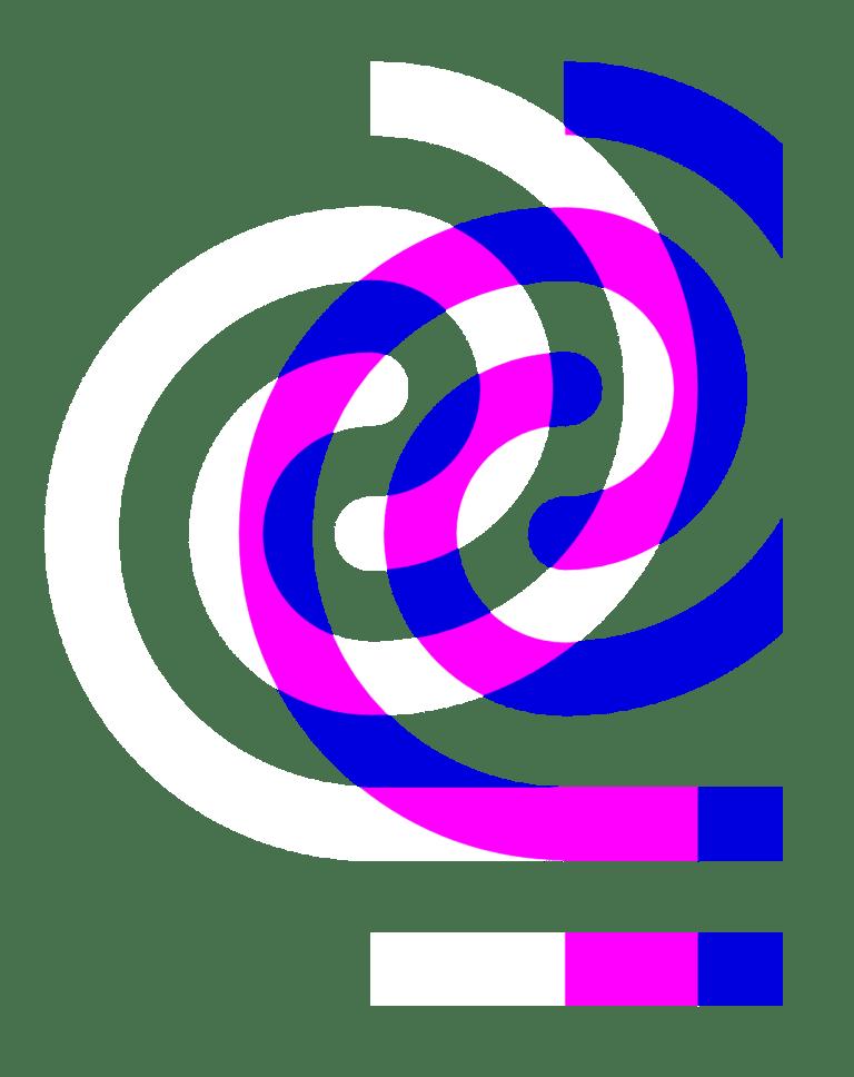 Curatorial Research Centre swirls