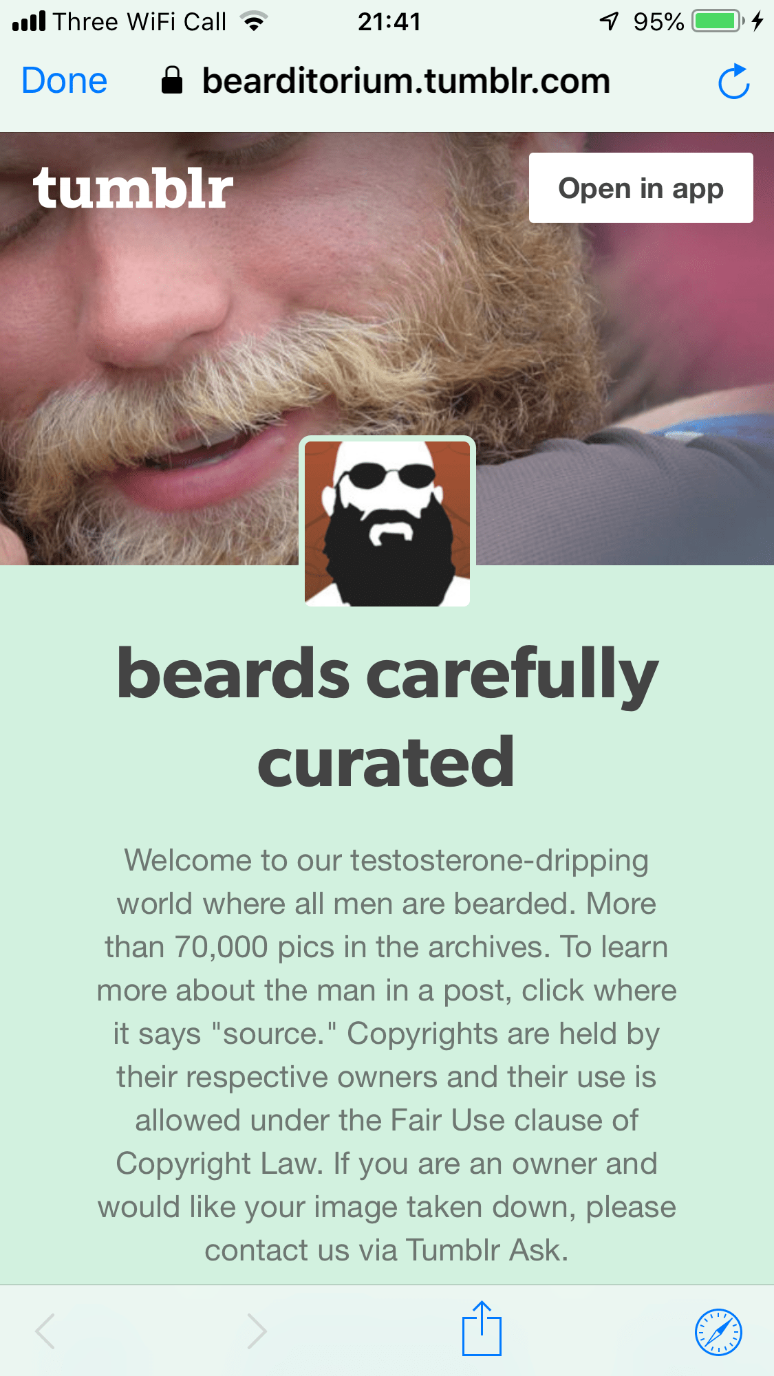 Beards carefully curated Tumblr blog