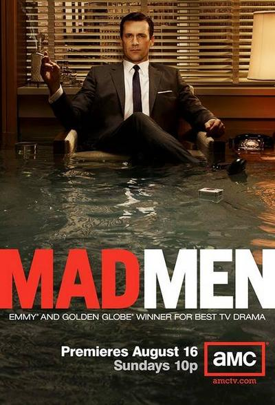 The Season 3 Poster for AMC's Mad Men