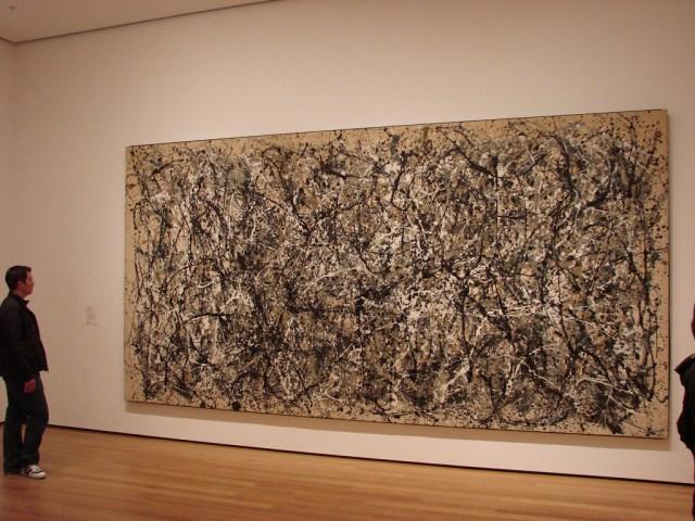 Museum of Modern Art, Jackson Pollock, One - Number 31