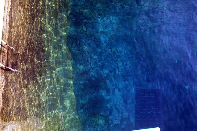 Balmorhea State Park's artesian fed pool.