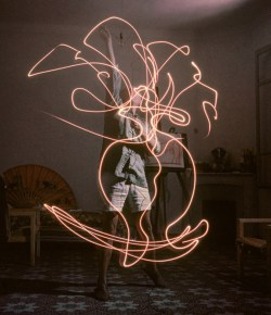 Strobes and Strokes with Pablo Picasso