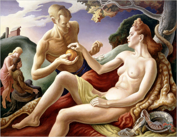 "Thomas Hart Benton's ""Apple of Discord"" (1949)"