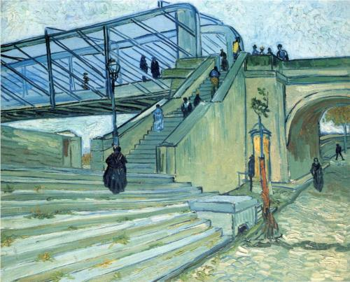 Artist: Vincent van Gogh Completion Date: 1888 Place of Creation: Arles, Bouches-du-Rhône, France Style: Post-Impressionism Genre: cityscape Technique: oil Material: canvas Dimensions: 73 x 92 cm Gallery: Private Collection