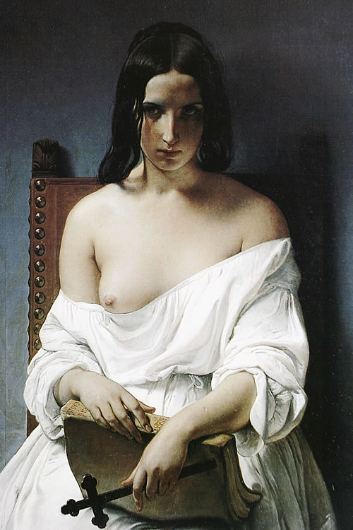 Hayez,_Fracesco_-_La_Meditazione_-_1851