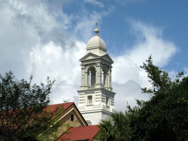 The Steeple of St John's Lutheran Church, Charleston, SC