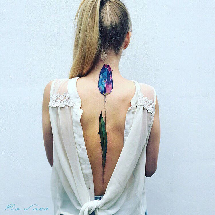 mesmerizing nature inspired tattoos by ukrainian artist pis saro