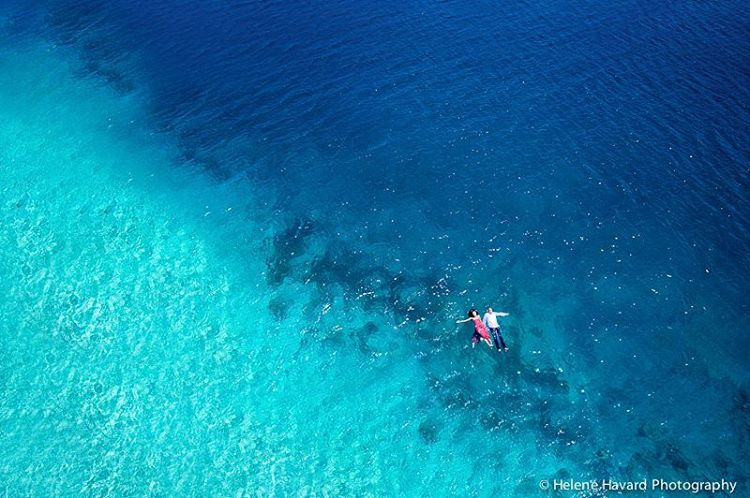 tahiti based photographer uses drones to take wedding photography to new heights