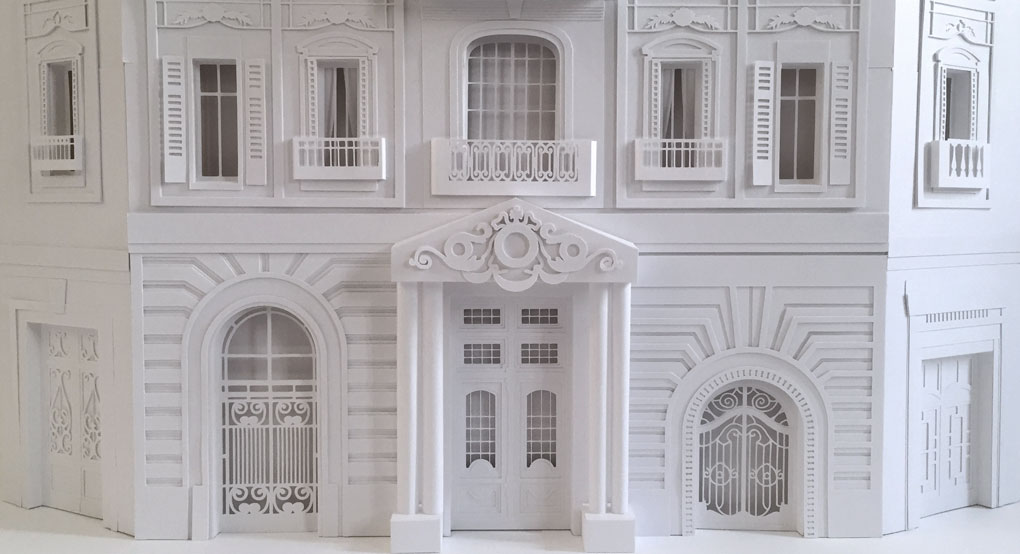 camille ortoli - an artist who turns paper into beautiful forms of art