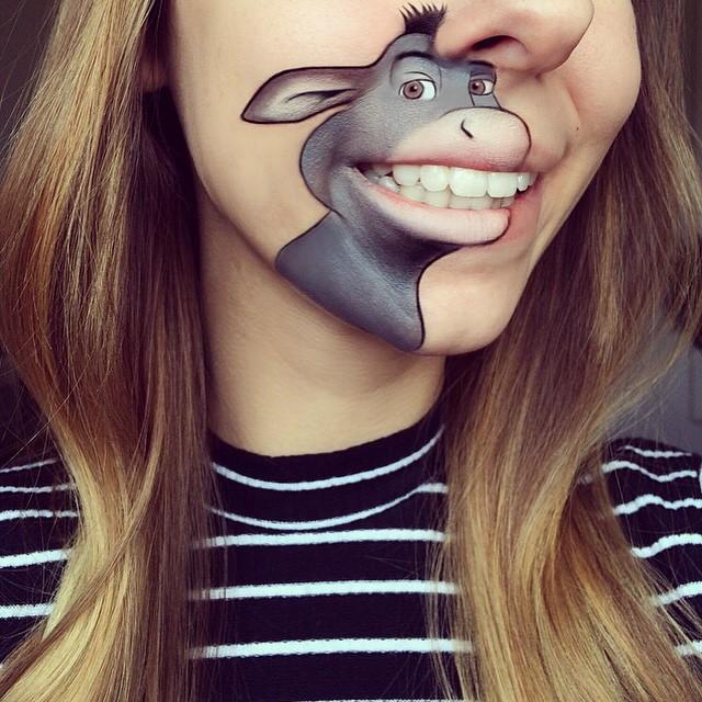 lip art, makeup tips, makeup artist, cartoon art, disney characters