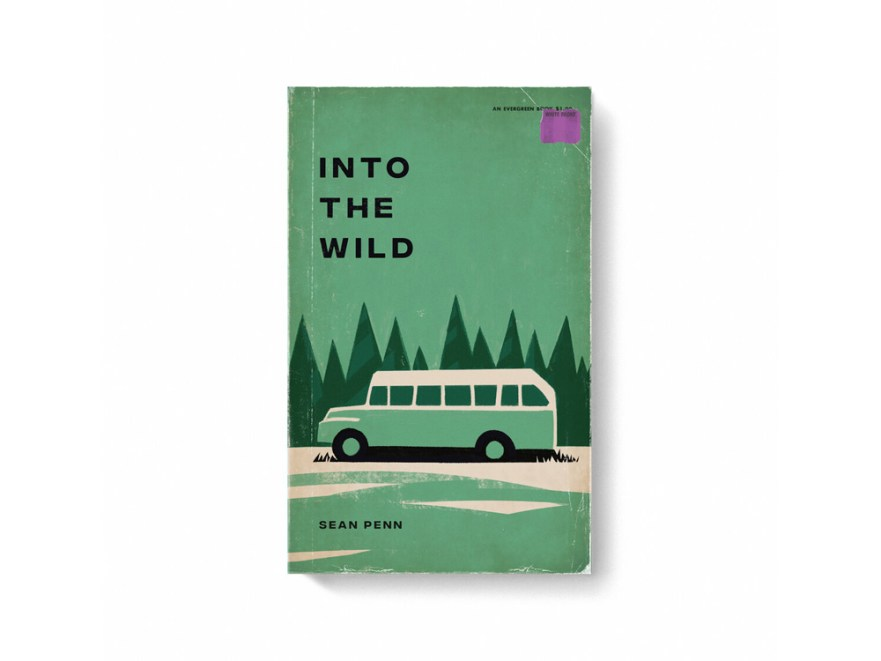 movie posters, book cover designs, blockbuster movies, into the wild movie poster