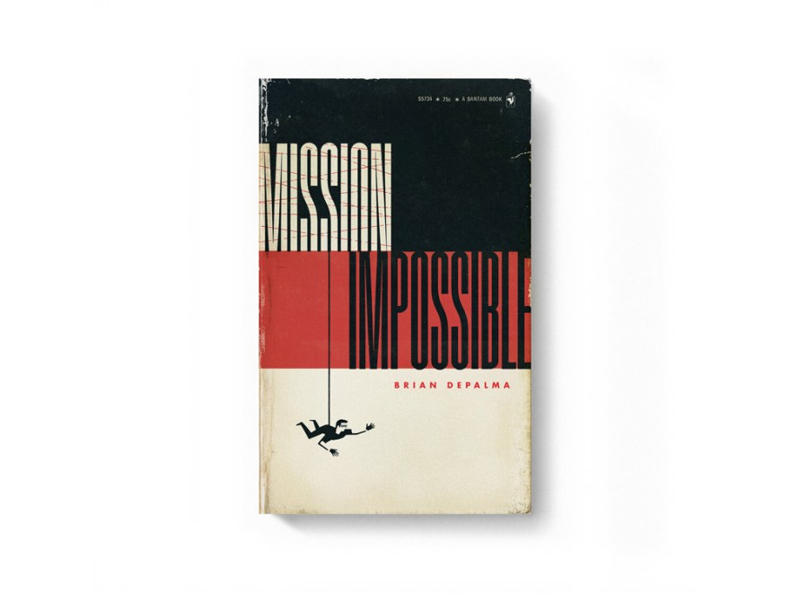 movie posters, book cover designs, blockbuster movies, mission impossible movie poster