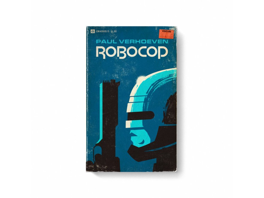 movie posters, book cover designs, blockbuster movies, robocop movie poster