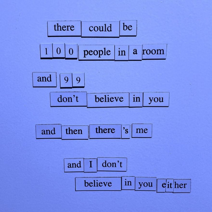 life poetry, fridge magnets, poetry magnets