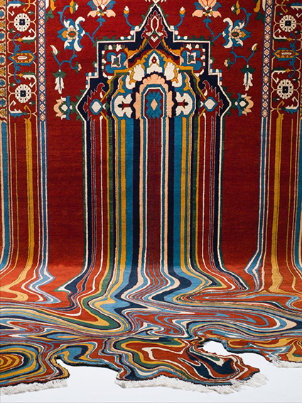 Faig Ahmed, Faig Ahmed rug, Faig Ahmed rugs for sale, crafts of the world, world crafts, art curators, curators of quirk