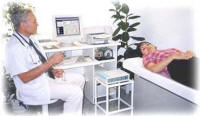 Curatron 2000 PC in clinic