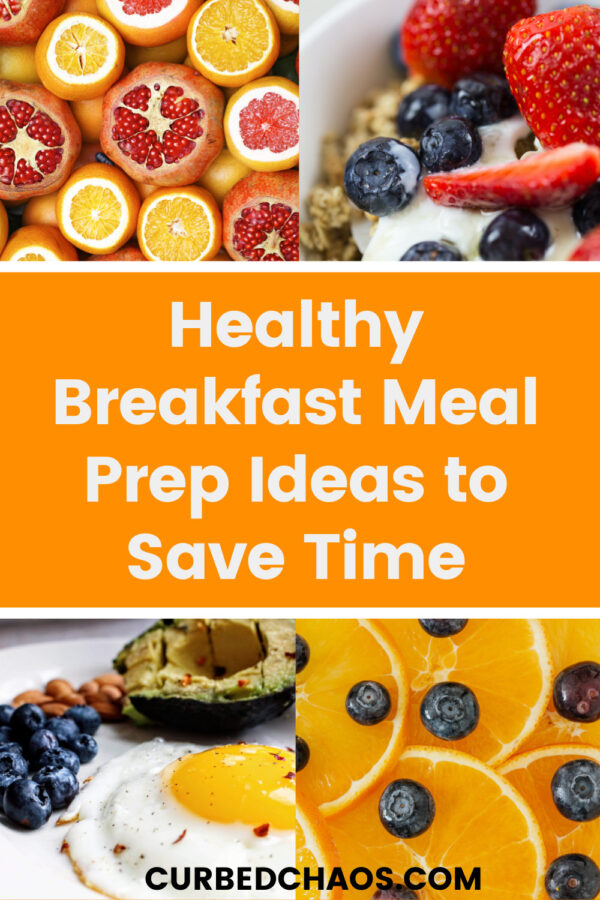 Breakfast Meal Prep Healthy