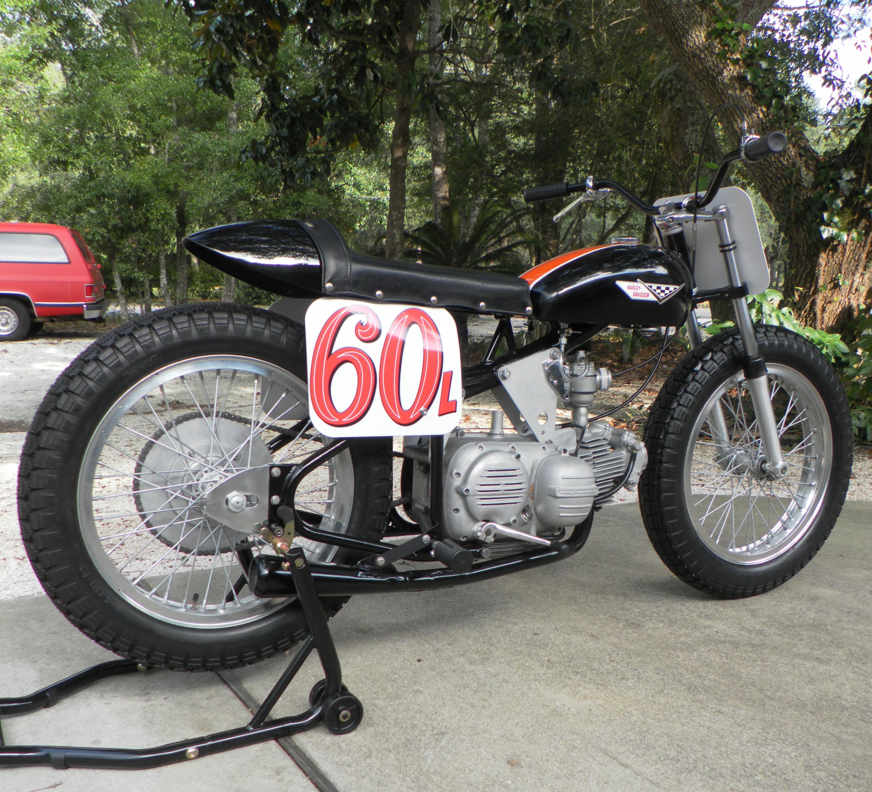 Motorcycle History Harley Davidson Sprint – The Spaghetti Hoglet