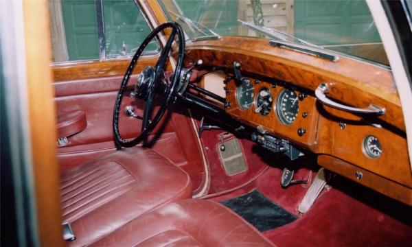 Bentley 1953 R Type int