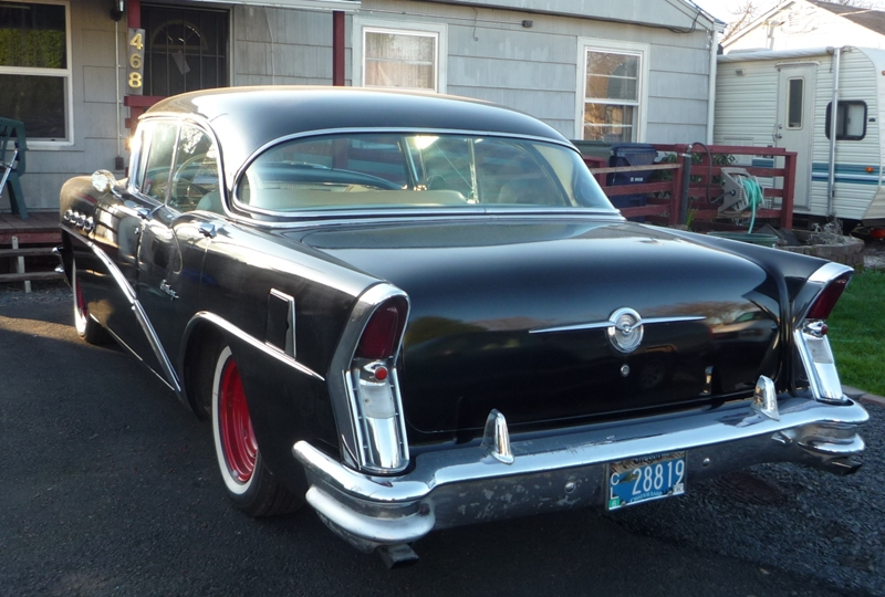 Curbside classic 1956 buick century riviera four door for 1956 buick special 4 door hardtop