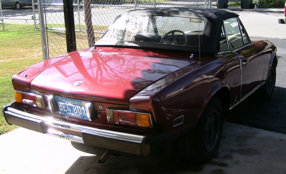 Curbside Classic 1974 Fiat 124 Sport Spider My Dad S