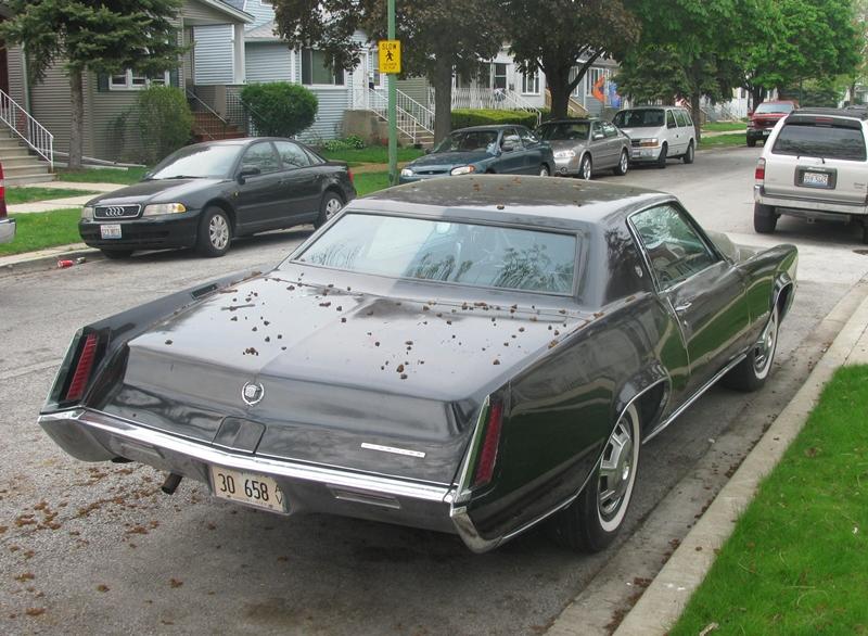 Curbside Classic 1967 Cadillac Eldorado On The Dark Side