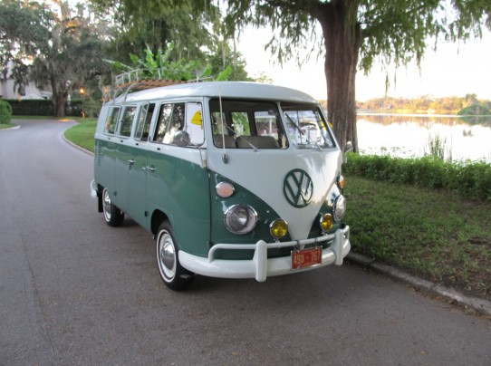 VW bus 65 roof rack