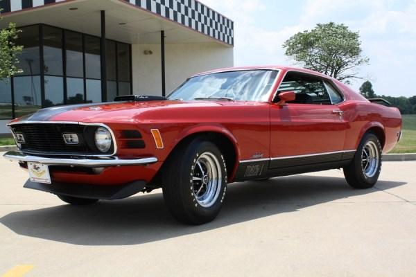 Mustang 1970 Mach 1 CJ