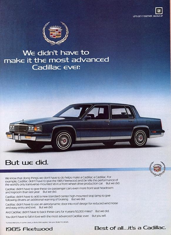 Classic Curbside Classic: 1987 Cadillac Brougham – The Elder Statesman
