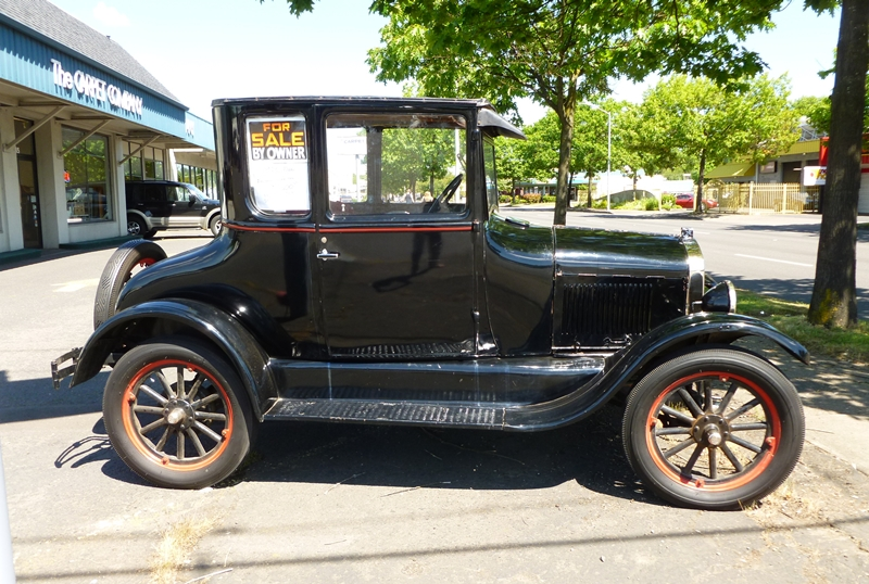 Curbside Classic 1926 Ford Model T Coupe T Stands For Tall