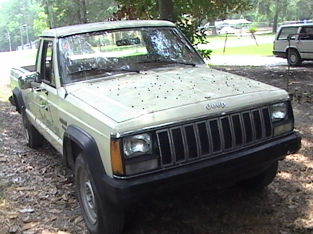 Classic Curbside Classic 1986 1992 Jeep Comanche It Coulda Been A