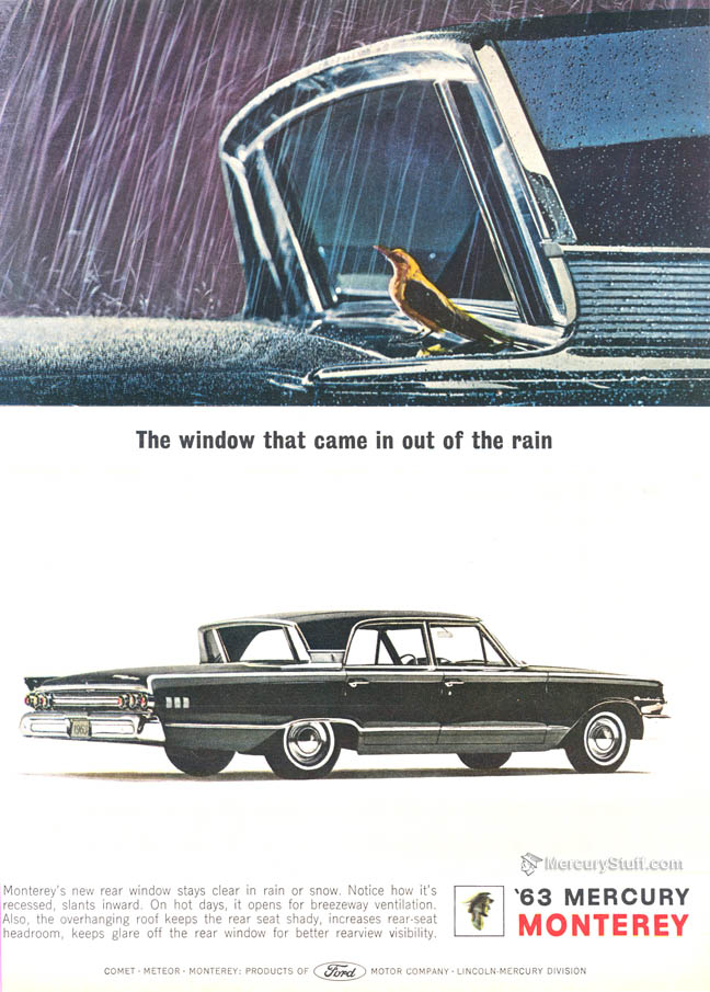 Curbside Classic: 1963 Mercury Monterey Breezeway – The Cure for the ...