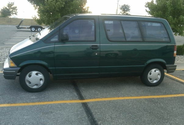 ad22fa0458 Curbside Classic  1995 Ford Aerostar – How Hard Can It Be to Make a ...
