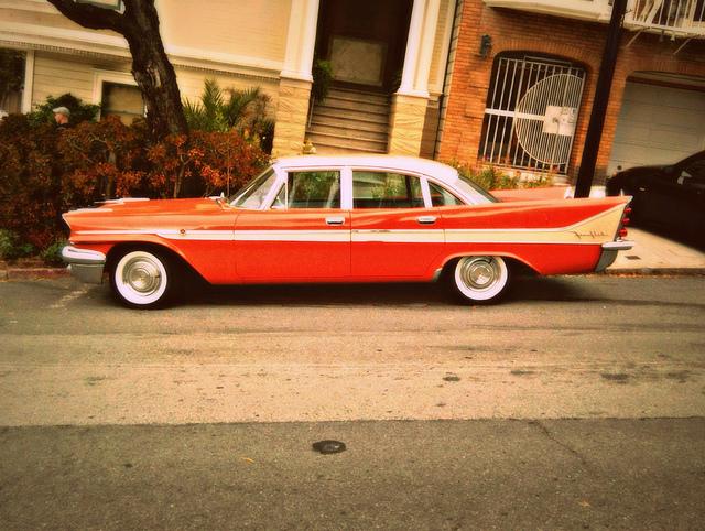 for 1957-58 Dodge Coronet 2 Door Hardtop w// Bench Seat 07-Dark Blue Carpet