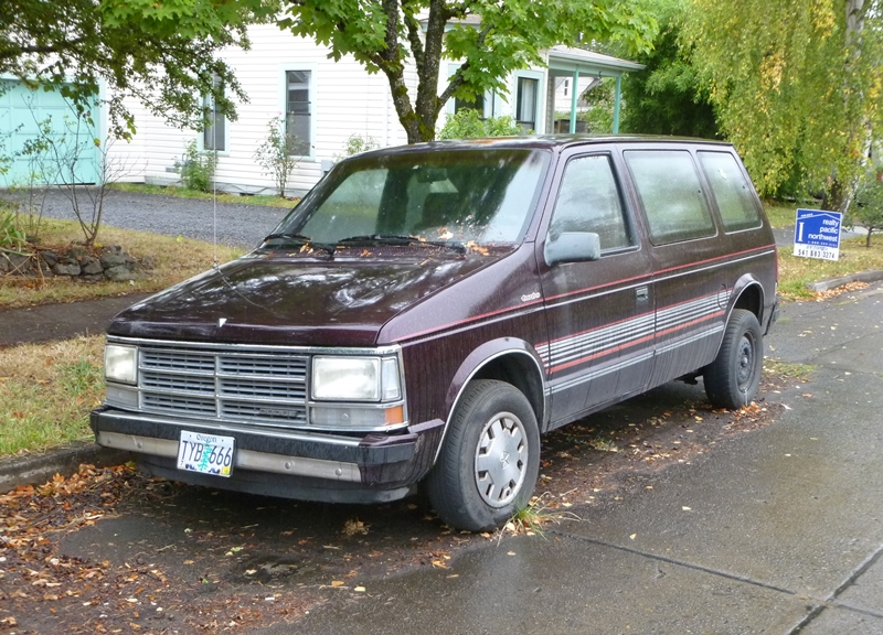 Curbside Classic 1989 Dodge Caravan Turbo Desperate Measures