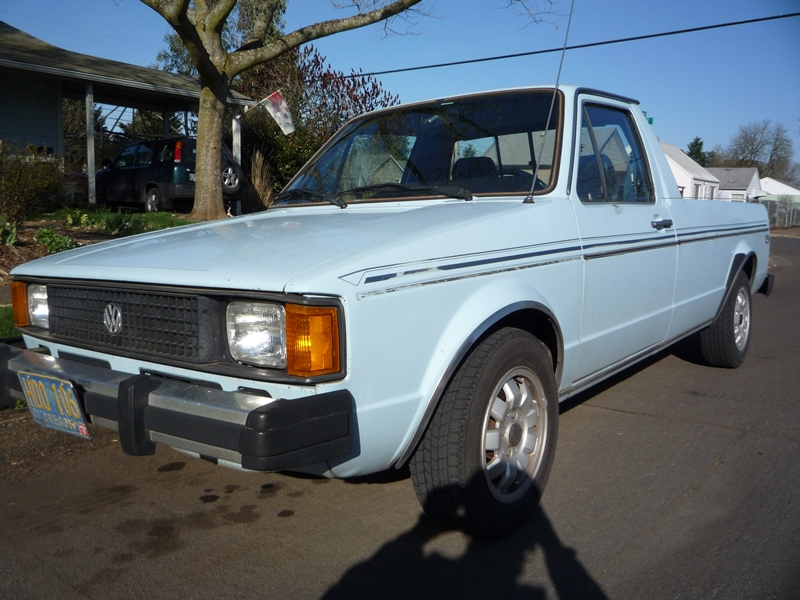 Cars Of A Lifetime: 1984 VW Diesel Pickup – Old Rabbit Habits Are ...