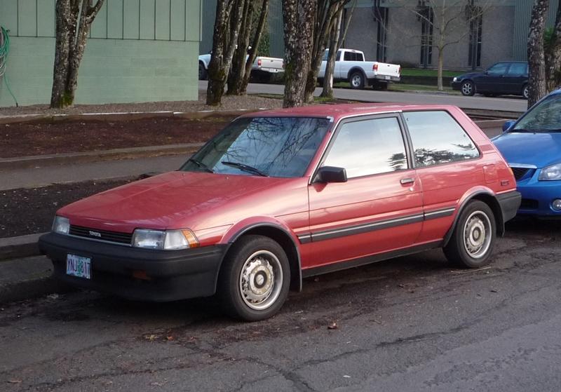 curbside classic 1987 toyota corolla fx16 when corollas still rh curbsideclassic com 1987 Toyota Corolla GTS Coupe 1985 Toyota Corolla SR5