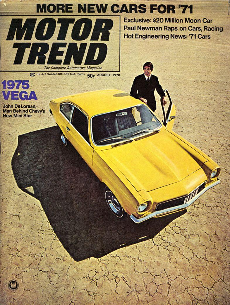1971 Chevrolet Vega Vintage Advertisement Ad Award