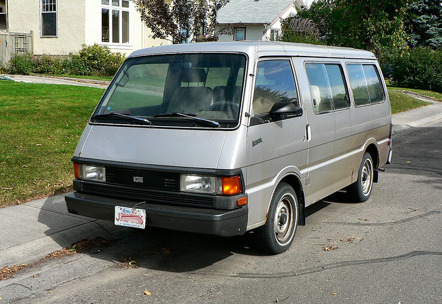 Curbside Classic: 1987 Nissan Van – How Did This Turkey