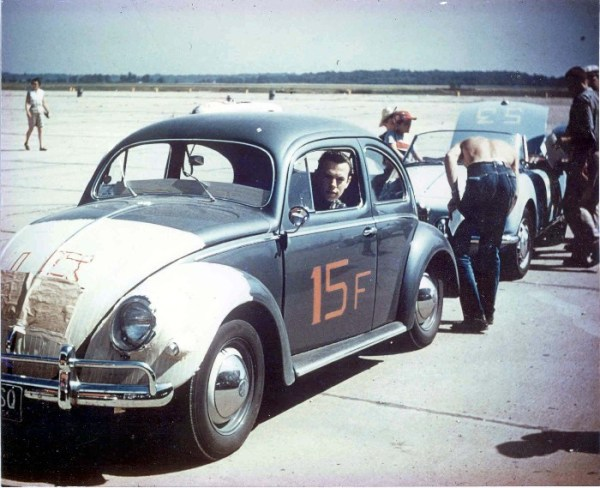VW 1955 racing