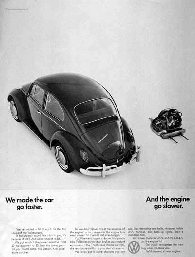 VW 1967 ad