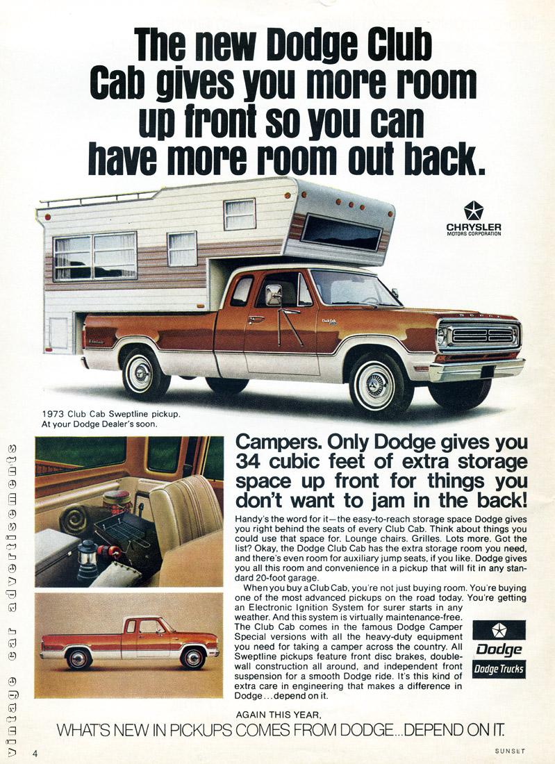 Dodge Club Cab 72 1100